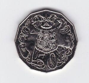 1983-Australia-50-Fifty-Cent-Coin-ex-UNC-Set