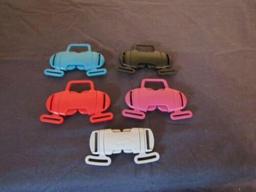 MAMAS /& PAPAS SWIRL /& CHICCO PUSHCHAIR STRAP BUCKLES VARIOUS COLOURS.