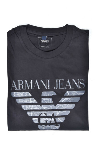 Jeans 6y6t476jpfz Cotone T Uomo Sweatshirt Nero 1200 Armani Shirt Maglietta OwfOWpv8tg