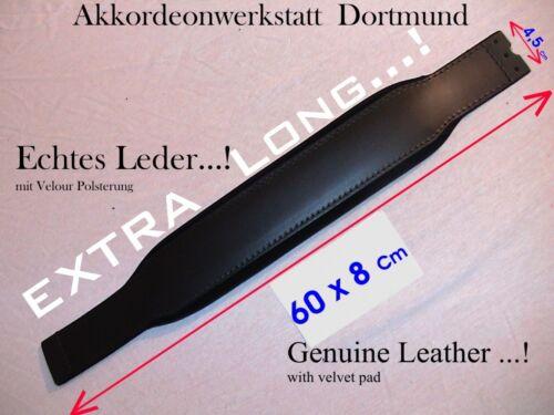 EXTRA Long 60 x 8 cm accordion bass strap belt Akkordeon Bassgurt,Riemen