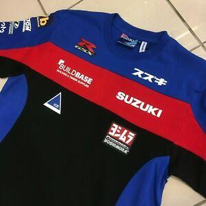 Genuine Suzuki 2020 Buildbase BSB British Superbike Polo Shirt S M L XL XXL