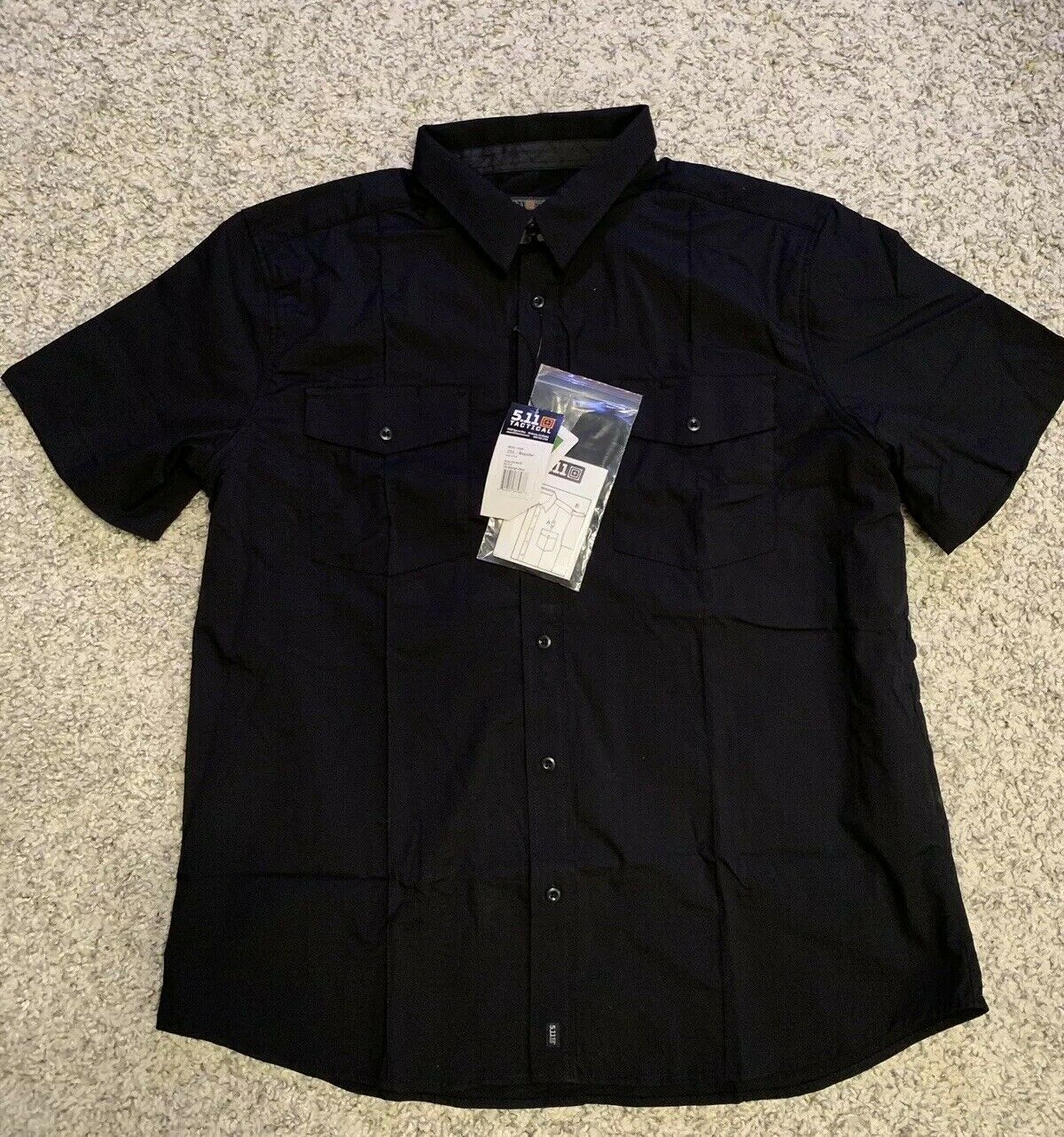 5.11 Tactical Mens Stryke Short Sleeve PDU -Class B Duty EMS Operator Police 3XL