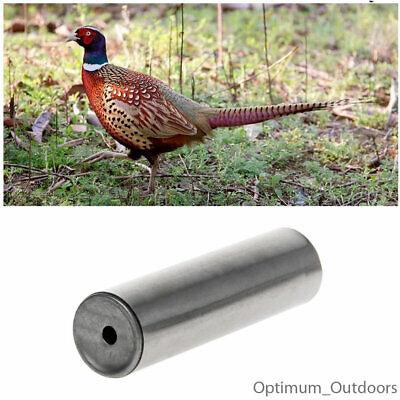 UK SELLER PHEASANT CALL CALLER SHOOTING WHISTLE SHOOT STAINLESS STEEL BIRD LURE