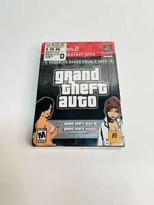 Playstation 2 Grand Theft Auto III & Vice City Double Pack