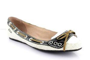 Miss-Sixty-Killah-bailarinas-de-senora-zapato-bajo-plana-zapatos-bailarina-beige-37