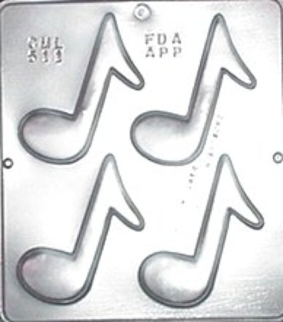 Musical Notes Chocolate Candy Mold  511 NEW