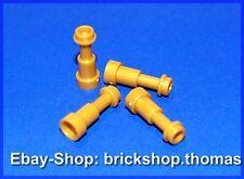Lego 4 x 64644 - Fernrohr perlgold / Fernglas Fernrohr Telescope - NEU / NEW