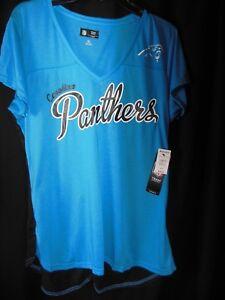 81e8d292614a Carolina Panthers Women s GIII Ladies 3 4 Mesh Back Jersey Shirt