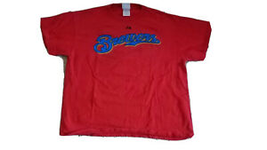 Vintage Milwaukee Brewers Polish Sausage Large Red T-Shirt  Q5