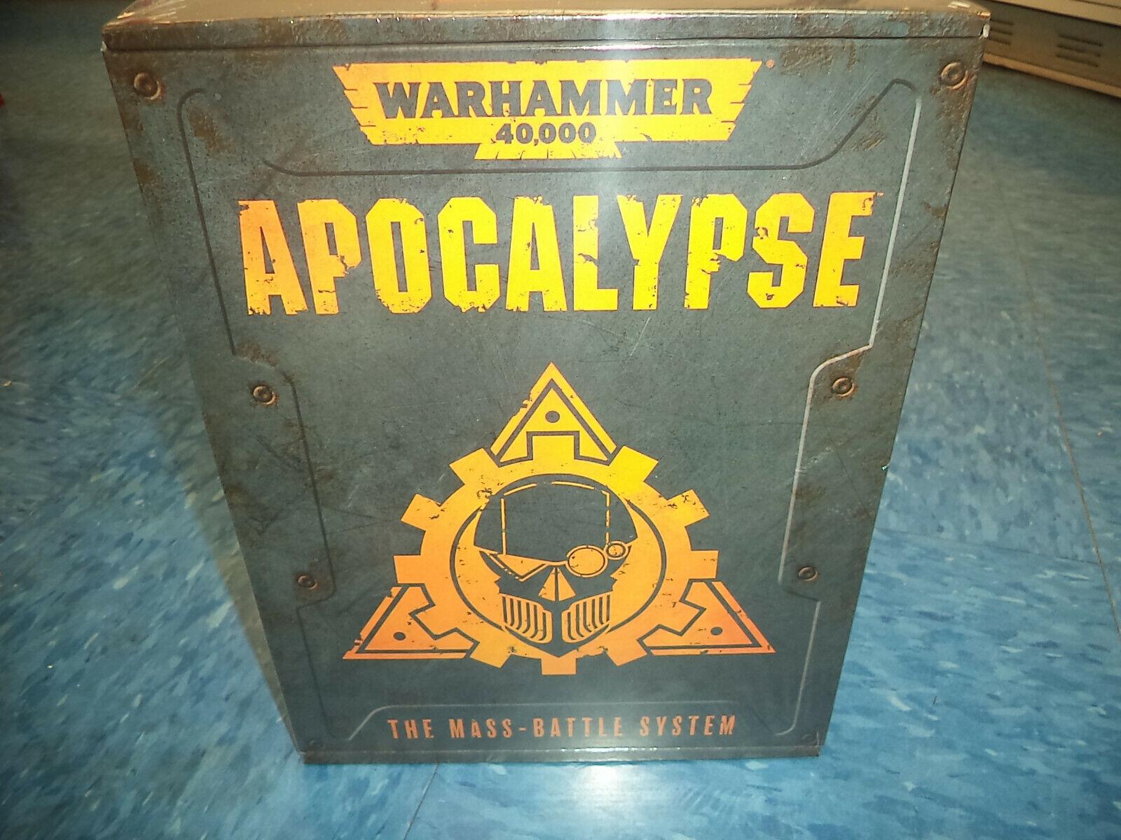 Warhammer 40000:黙示録大量戦闘システムWarhammer 40万40000新しい!