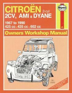 Citroen-2CV-Owner-039-s-Workshop-Manual-by-Haynes-Publishing-9780857336408