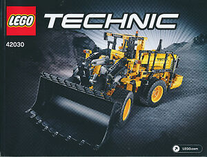 lego technic bauanleitung f r 42030 volvo l350f radlader. Black Bedroom Furniture Sets. Home Design Ideas