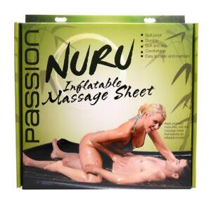 Image Is Loading Nuru Massage Inflatable Vinyl Sheet 5 5 Inch