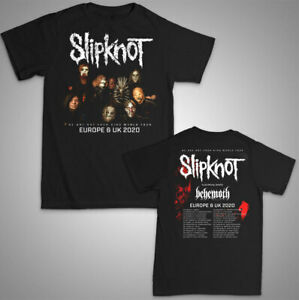 Slipknot-unisex-T-Shirt-Europe-UK-Tour-2020-we-are-not-your-kind-band-music