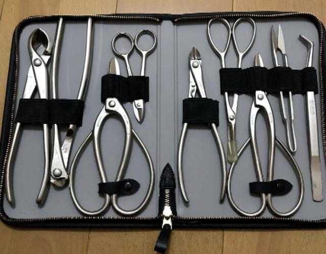 Masakuni 8031 Bonsai Tools Set 9 Piece For Sale Online Ebay