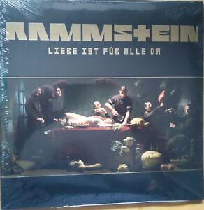 Rammstein-Amour est pour tout le monde vinyle 2 lp first press 2009 + Flyer NEUF