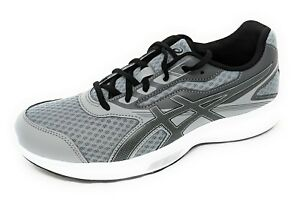 c95d6e0b9c0c ASICS Men s Stormer Running-Sneakers  T741S-9690 Mid Grey Black ...