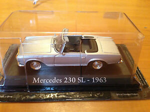 DIE-CAST-034-MERCEDES-230-SL-1963-034-SCALA-1-43-RBA-AUTO-INDIMENTICABILI