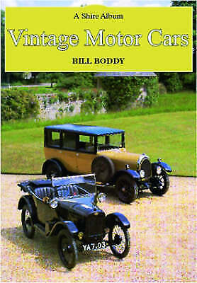 Vintage Motor Cars by Bill Boddy (Paperback, 1985)