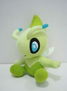 Celebi-Legit-Pokemon-Takara-Tomy-9-034-Plush-NO-TUSHTAG-Toy-Doll-Japan