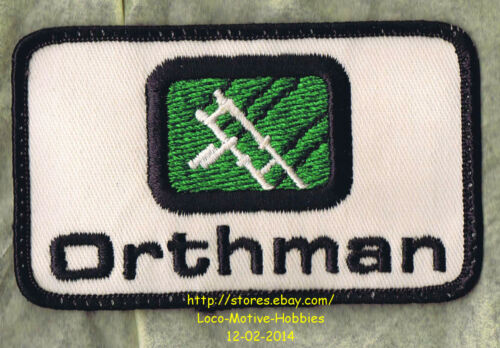 LMH PATCH Badge  ORTHMAN  Agricultural Tractor Products Implement Machines  LOGO