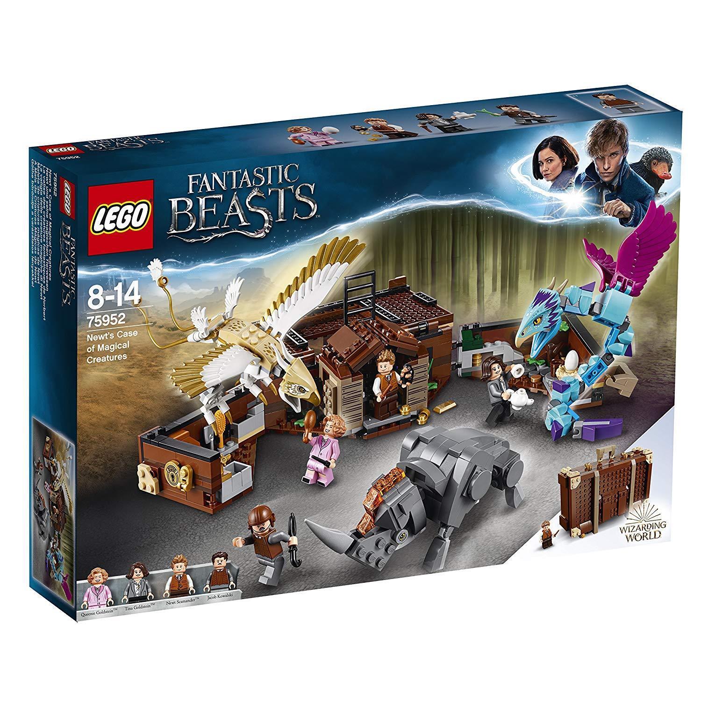 LEGO Fantastic Beasts 75952 Newts Koffer der magischen Kreaturen Case N10/18