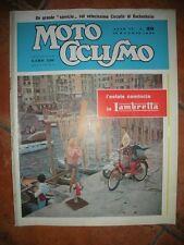 MOTO CICLISMO Settimanale MAGGIO 1956 L'estate comincia in LAMBRETTA