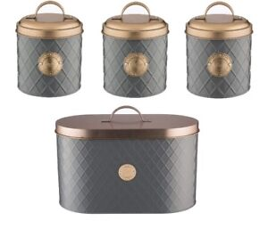 Typhoon-Living-the-cafe-sucre-et-pain-Bin-Storage-Tins-Gris-Cuivre