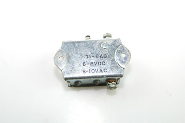 New EDWARDS SIGNALING 15-1AB Miniature Lungen AC//DC Buzzer 5-10VDC or 6-12VAC