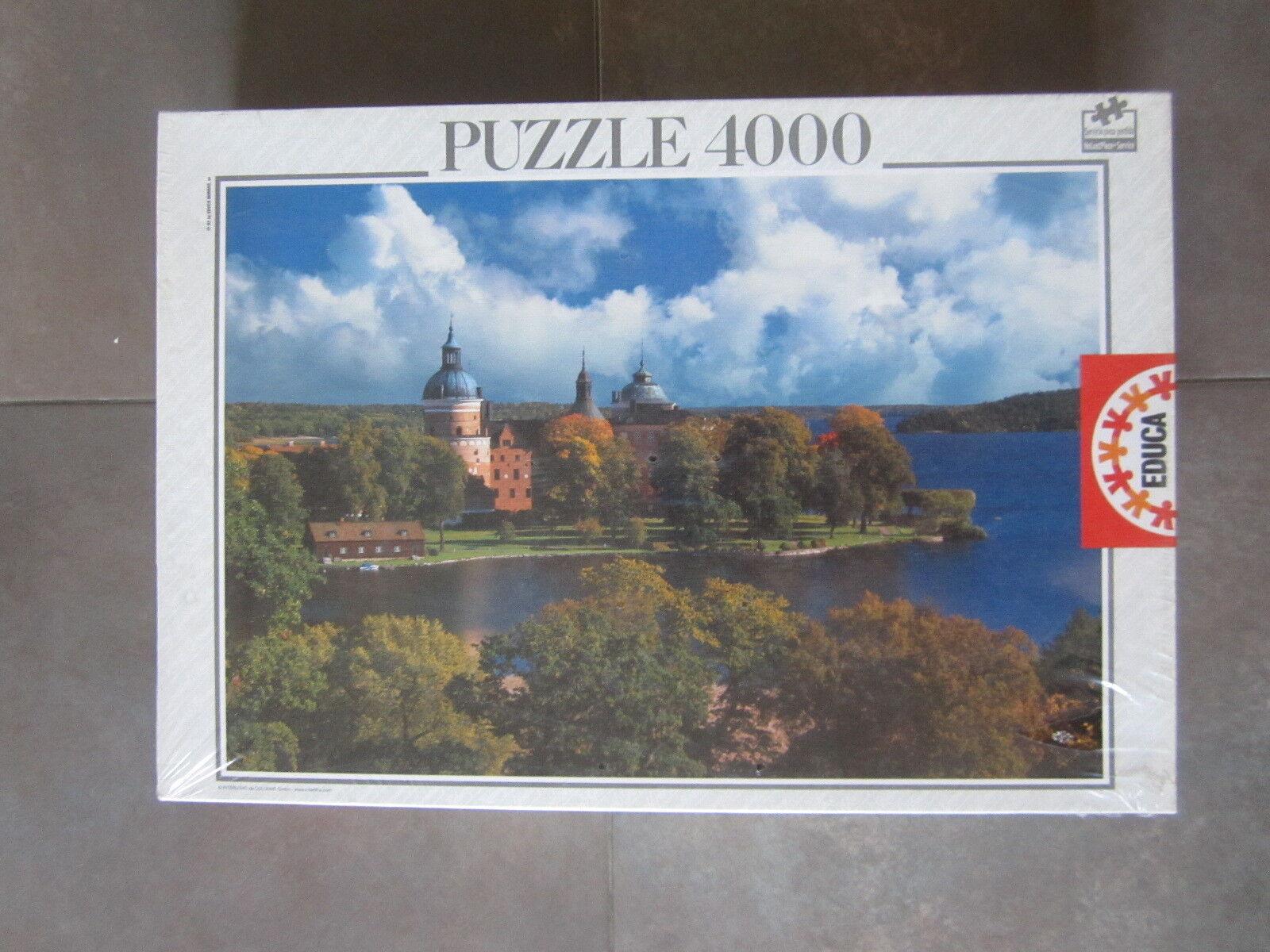 PUZZLE 4000 EDUCA  IMAGEN DROTTNINGHOLM SUECIA  136 136 136 X 96 CM. NUEVO SIN ABRIR 8b0d2c