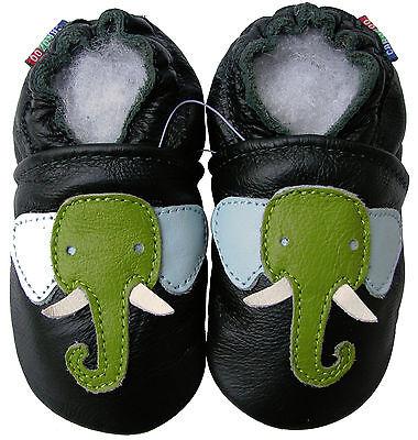 carozoo stegosaurus dark blue 5-6y soft sole leather kids shoes