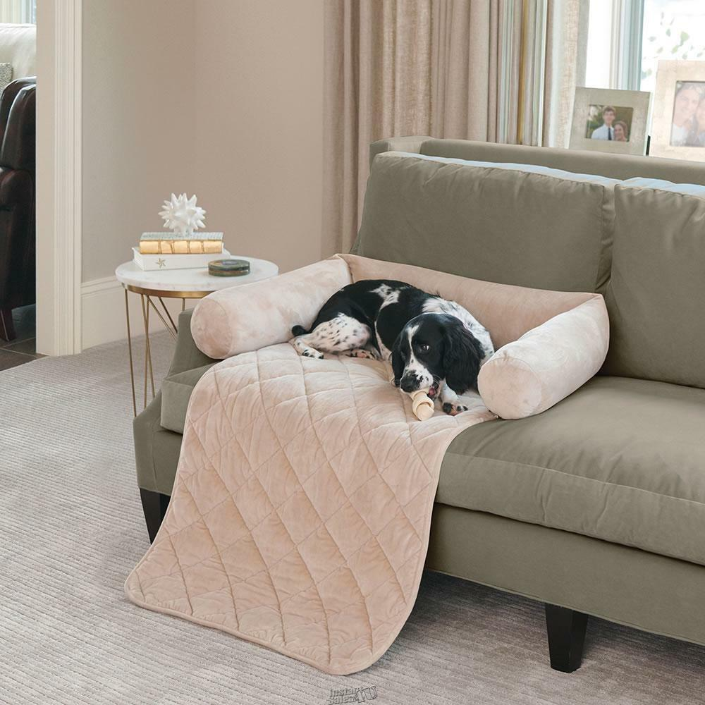 Hammacher Furniture Protecting Pet Bed Couch Chair non-slip backing