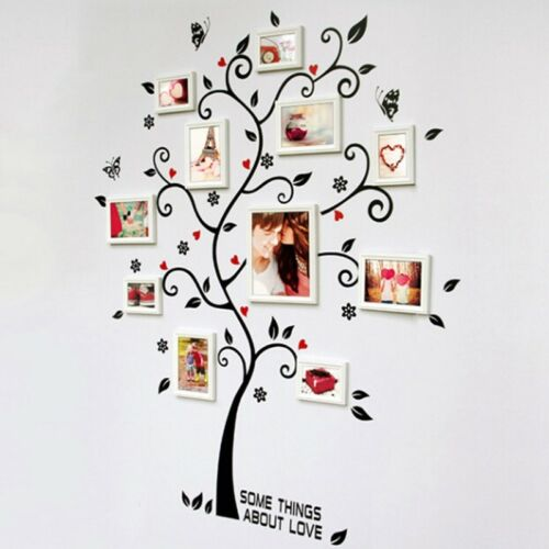 Family Tree Wall Sticker Photo Picture Frame Removable DIY Room Decal Nice