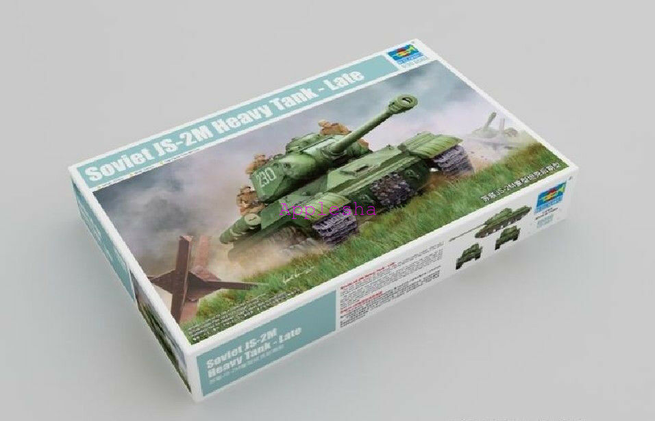Trumpeter 05590 1 35 Soviet JS-2M Heavy Tank Late Type