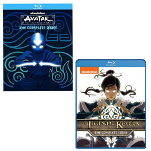 Avatar-The-Last-Airbender-1-2-3-Legend-of-Korra-Book-1-2-3-amp-4-Blu-ray-RB