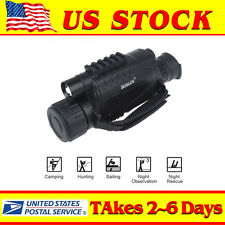5x40 IR Night Vision Monocular Telescope 8GB For Wild Hunting Watching 2M-200M