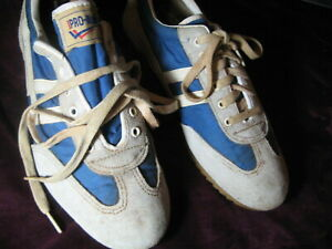 39ab89142f1a71 VTG RARE PRO-KEDS Made in Korea Suede Men s Sneakers Shoes 8.5 ...