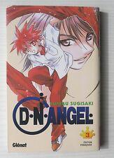 MANGA DN D.N. ANGEL n° 3 YUKIRU SUGISAKI EDITION FRANCAISE GLENAT