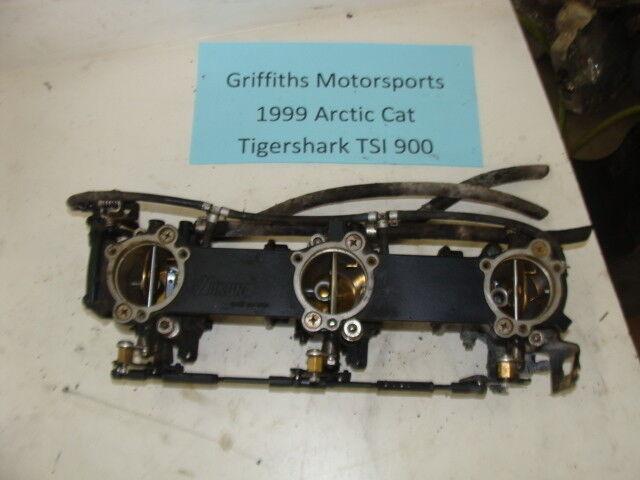 99 1999 Arctic Cat Tigershark Tigershark Tigershark TSI 900 98 Mikuni Oem Kohlenhydrate Dreifach 99034e