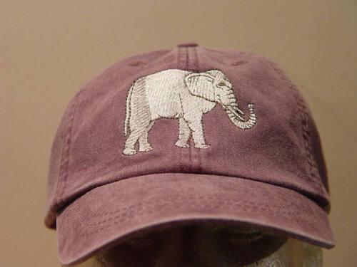 ELEPHANT WILDLIFE HAT WOMEN MEN EMBROIDER BASEBALL CAP Price Embroidery Apparel