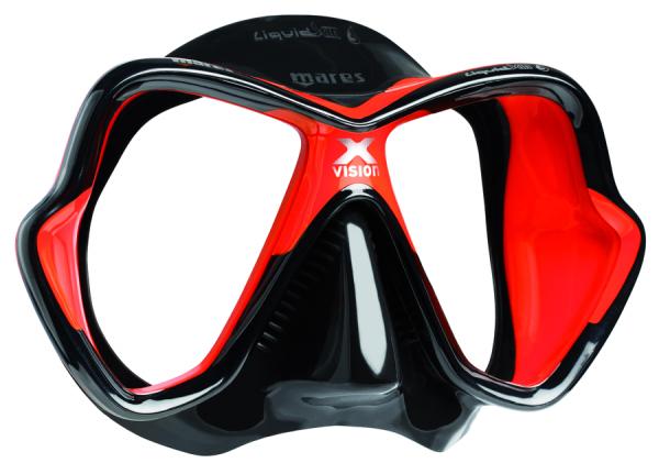 AngebotsKracher - Mares Tauchmaske Tauchmaske Tauchmaske X-Vision Ultra LS - Rot Schwarz - Tauchmaske b53f6e
