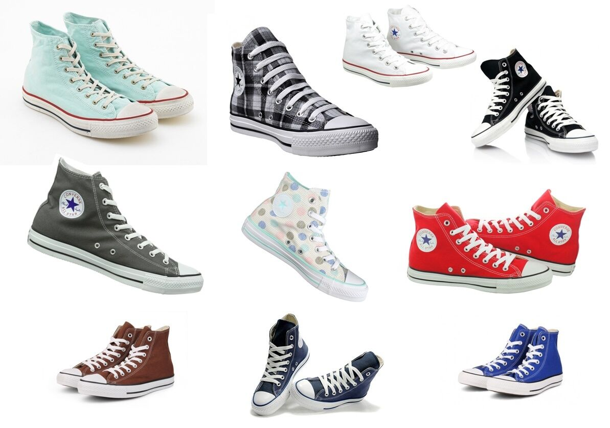 All Leinen Star Converse Chucks Hi Leinen All Damen Herren Sneaker a9f938