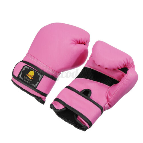 Kids Boxing Gloves for Kids Children Training Punching Bag Kickboxing Sport Gym