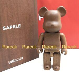 d89206b0 Medicom Be@rbrick 2018 Karimoku Sapele Wood 400% wooden bearbrick ...