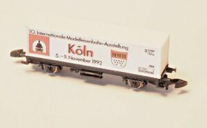 Z-CLUB-INTERNATIONAL-1992-Marklin-Z-scaleContainer-Car-VERY-LOW-PRODUCTION