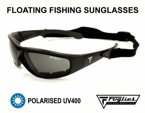 Fuglies Polarised Floating Fishing Sunglasses PL01 FREE HARD CASE