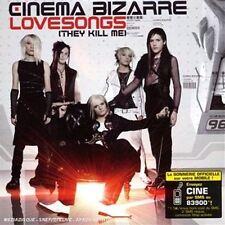 Lovesongs (They Kill Me) [CD Single] Cinema Bizarre