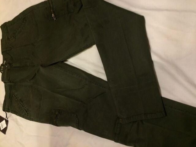 d368b672530e1 B6 Women s Plus Size Utility Jeggings - Ava   Viv Fern Green 18w   R ...