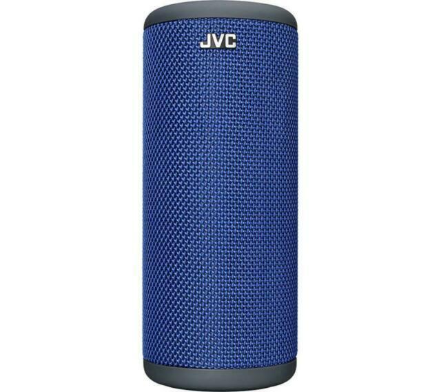JVC SP-AD10-A Portable Bluetooth Speaker - Blue