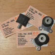 Genuine Stihl MS200T 020T Chainsaw Anti Vibration Rubbers Set of 3 Tracked Post